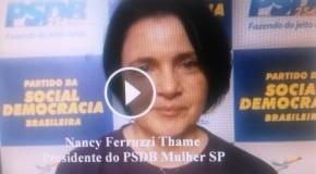 PSDB Mulher SP Rumo aos 50% #MaisMulherNaPolítica