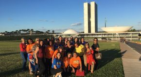 Mulheres do Estado de São Paulo em Brasilia
