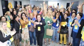 Edna Martins é eleita presidente estadual do PSDB-Mulher SP